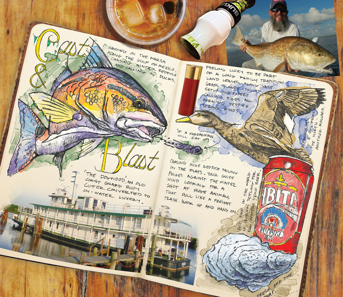 ed anderson redfish journal