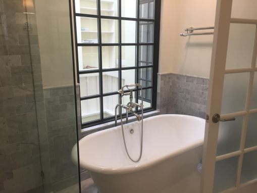 Freestanding Tub Master Bathroom Pacific Palisades