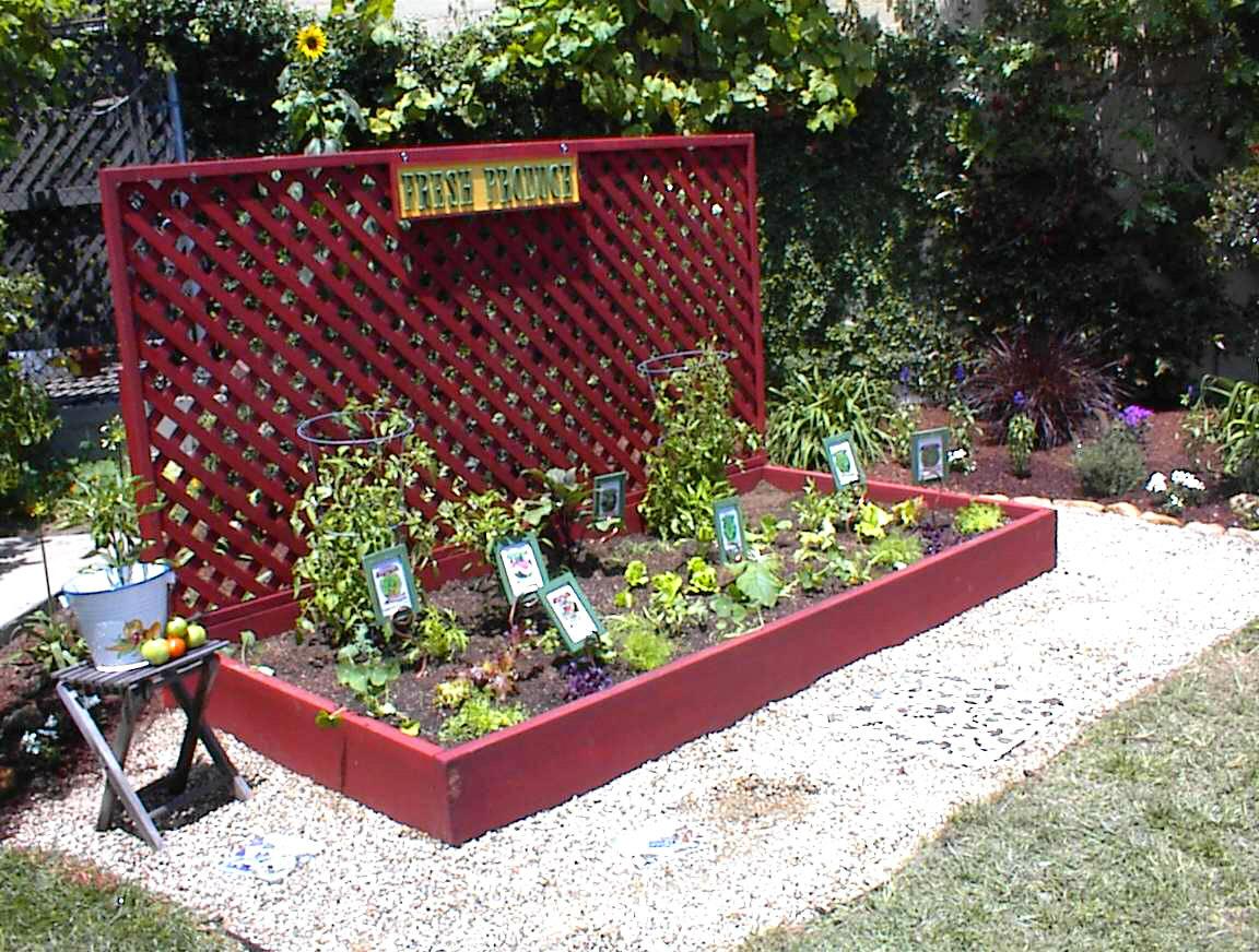 Artistic Raised Planters