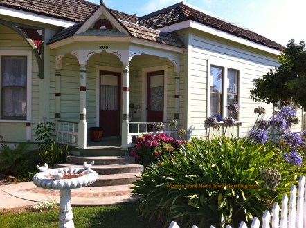 Curb Appeal Front Yard Porch and Gardens