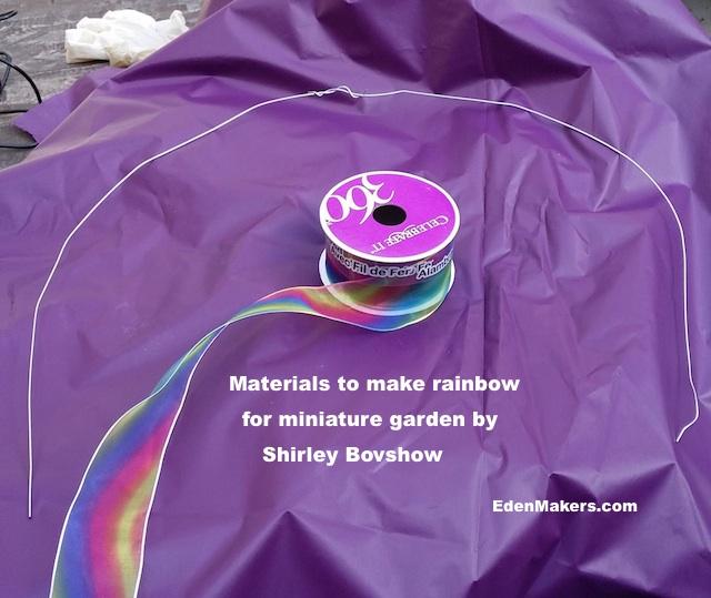 rainbow-ribbon-bent-floral-wire-miniature-garden-edenmakers