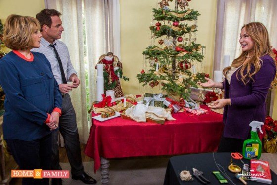 vintage-tabletop-christmas-tree-with-shirley-bovshow-mark-steines-cristina-ferrare-on-home-and-family-show-hallmark-channel-edenmakers-blog1