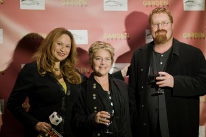Shirley Bovshow RJ Cutler and Lori Johansen on Garden World Report Show