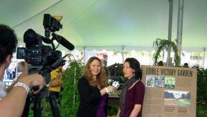 Shirley Bovshow of Garden World Report Show interviews Julie Chai of Sunset magazine