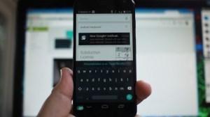 error de teclado en android