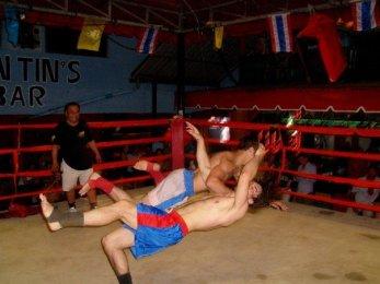 Wrestling on Koh Phi Phi, 2007