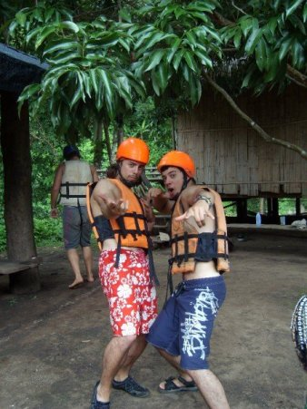 White Water Rafting in Thailand, 2007