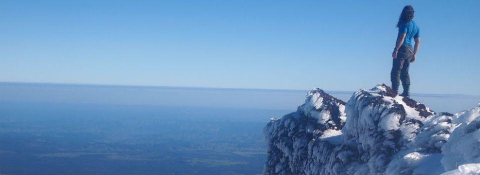 Top of Mount Doom, New Zealand
