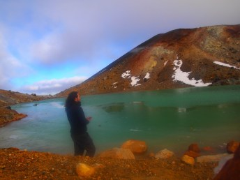 Blues Lakes of the Rotorua Crossing, New Zealand