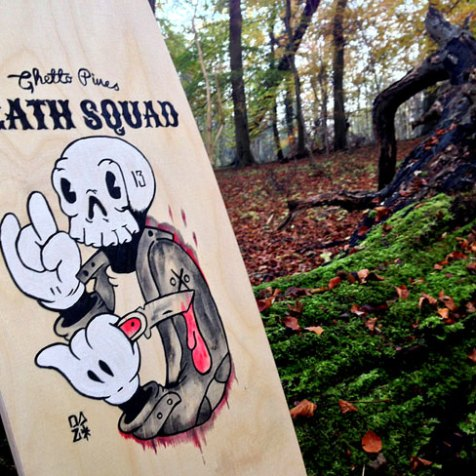 Happy Ghetto Voodoo Boards Death Squad Board