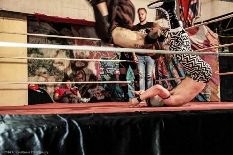 Los Nordicos Lucha Libre © 2014 AbsolutQueer Photography