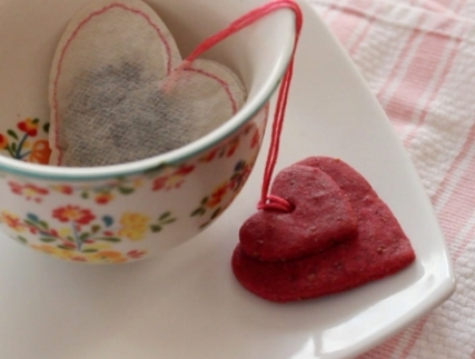tea bag cookies valentines
