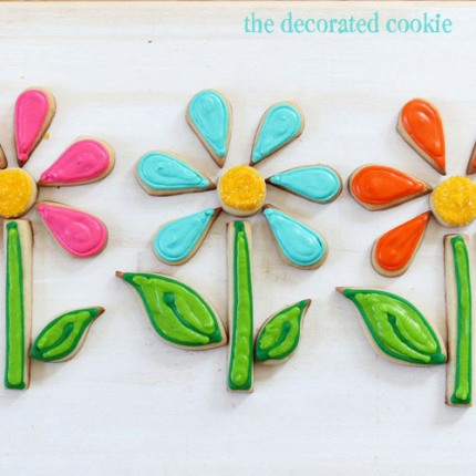 flower cookie puzzle