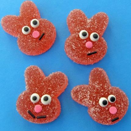 sour gummy bunny