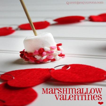 Easy Valentine Marshmallow