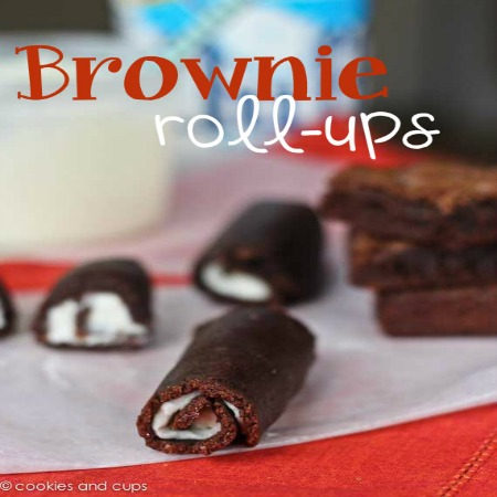 brownie rollup