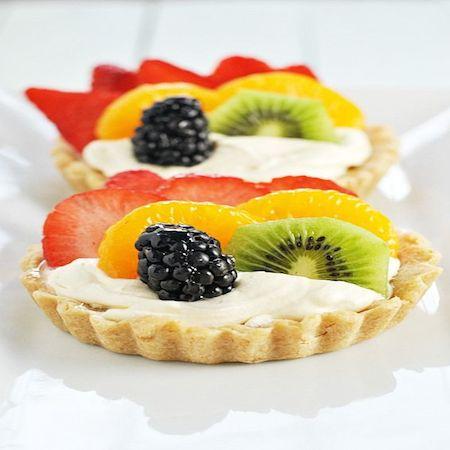 Rainbow Fruit Tartlet