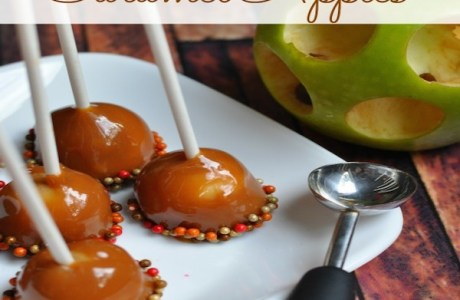 Mini-Caramel-Apples-