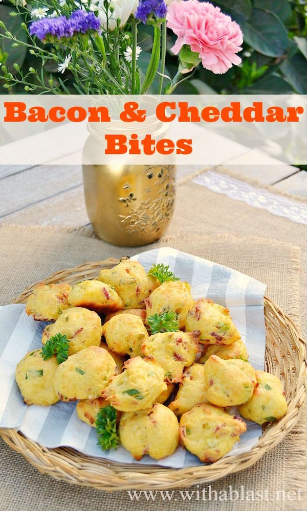 bacon and cheddar bites