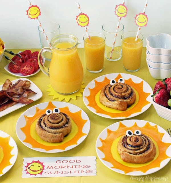 fun-brunch-party-ideas-good-morning-sunshine-buffet-table