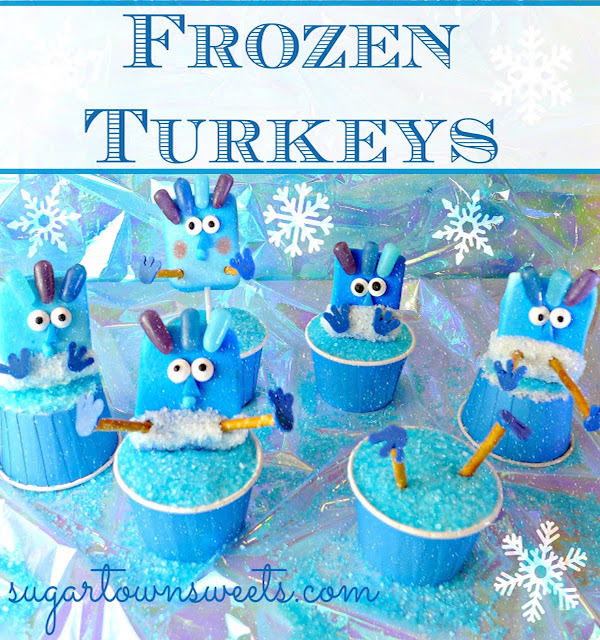 frozen turkeys