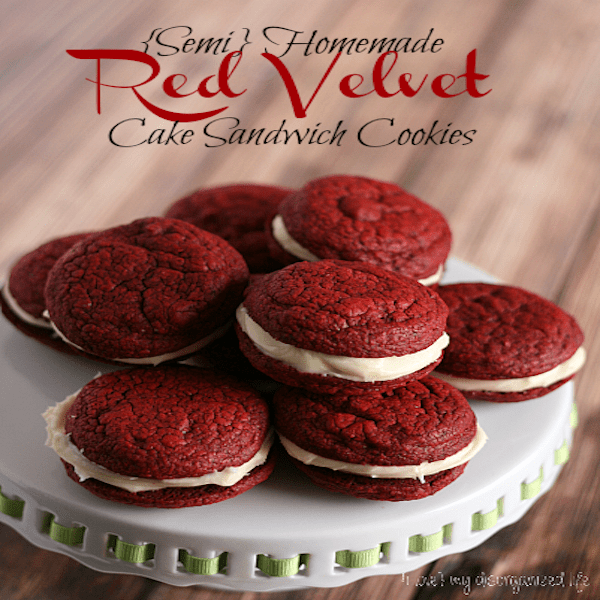 Semi-Homemade-Red-Velvet-Cake-Sandwich-Cookies-i-love-my-disorganized-life-cookiereicpes-cake-