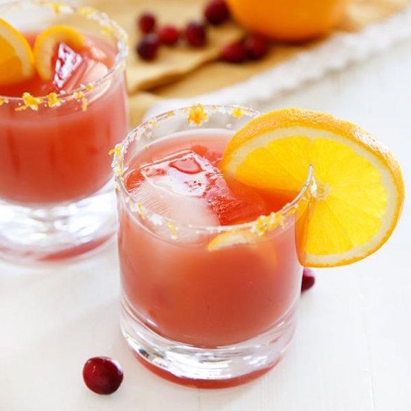 craberry orange margarita