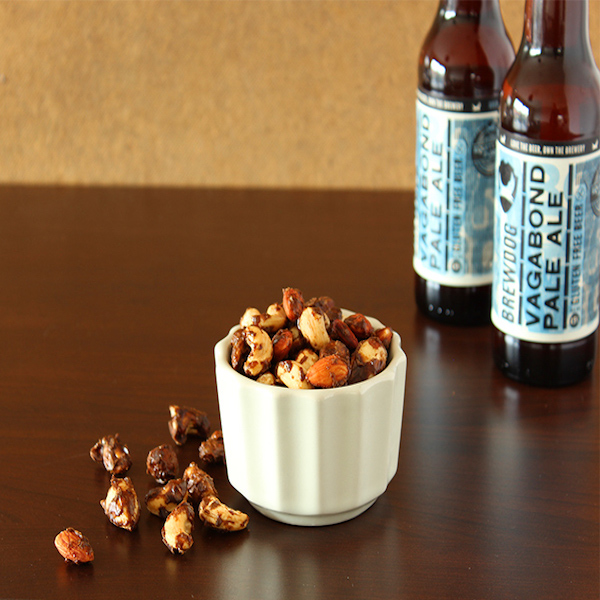 Beer-ale-flavoured-roasted-nuts-recipe