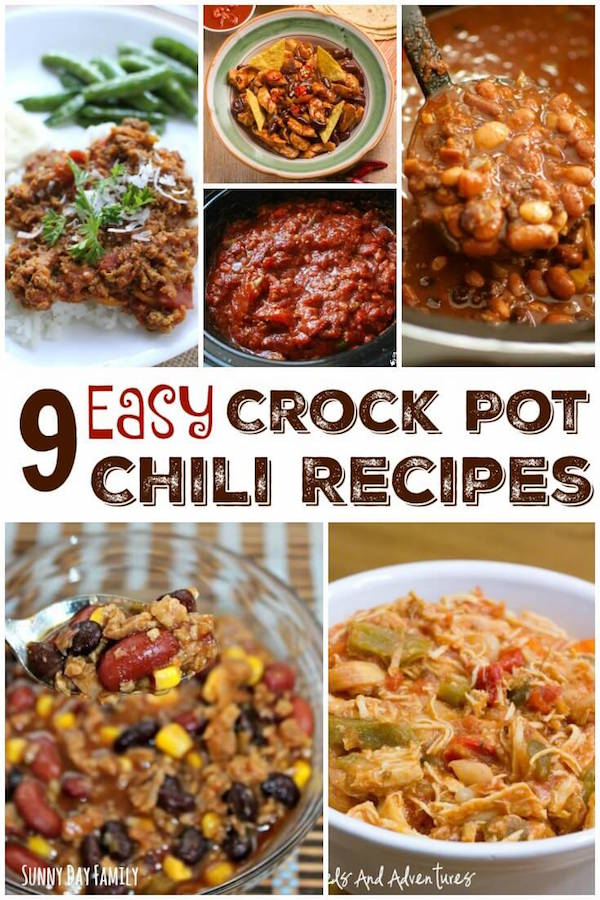 crock pot chili recipes