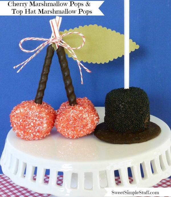 marshmallow pops for presidents' day