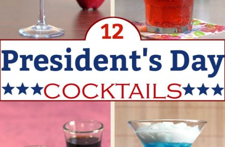 Presidents' Day Cocktails