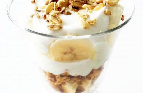 Banana Nut Breakfast Parfait