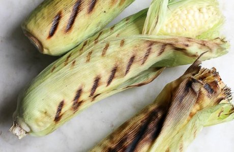 Grilled Corn with Vegan Compound Butter