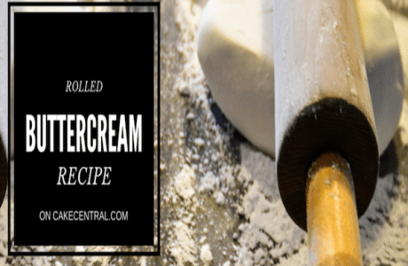 Rolled Buttercream Icing Recipe