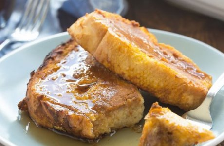 Baked Overnight Pumpkin French Toast