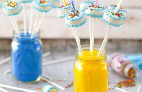 Birthday Cake – Cake Pops