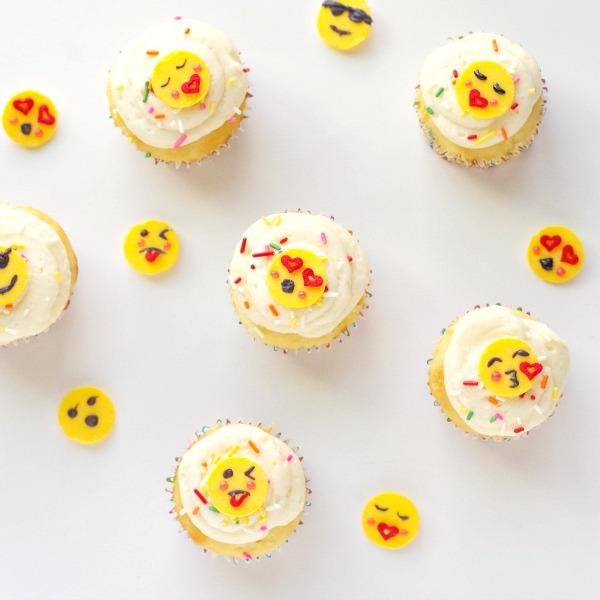 DIY Emoji Cupcakes