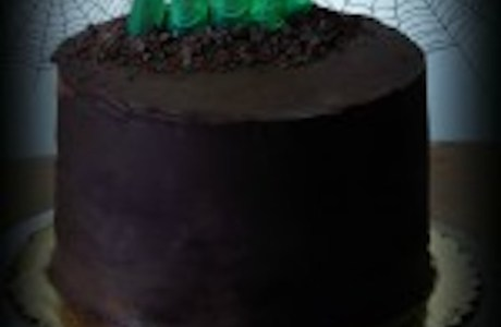 Zombie Chocolate Mousse Cake