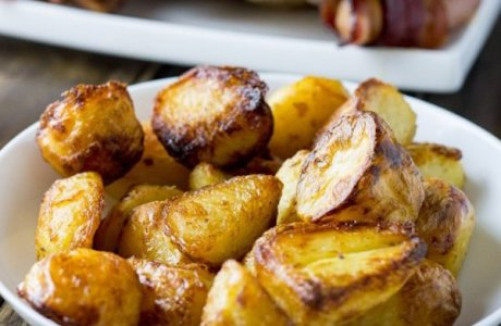 Prepare Ahead Roast Potatoes