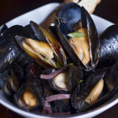 How to cook mussels 'a la minute'