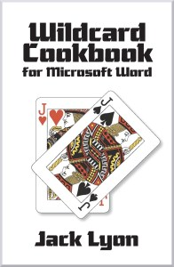 Wildcard Cookbook for Microsoft Word