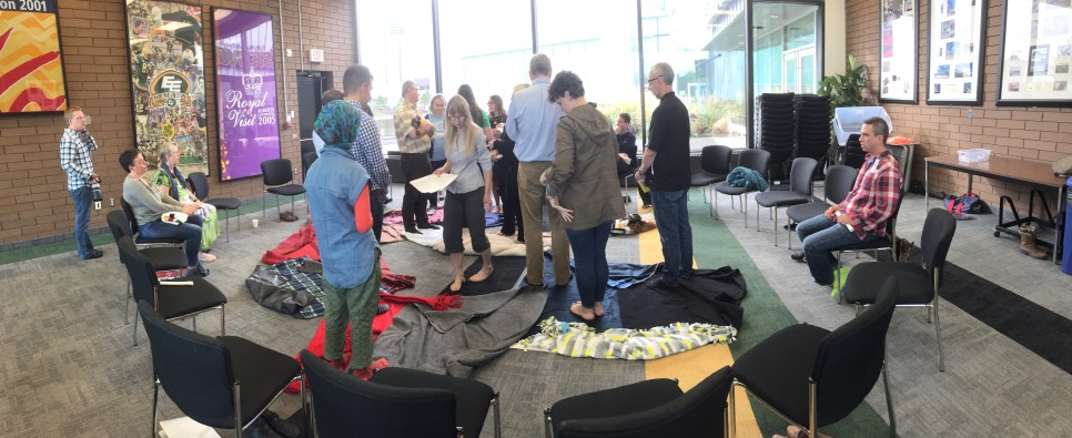 Blanket exercise with EHC Staff and Directors