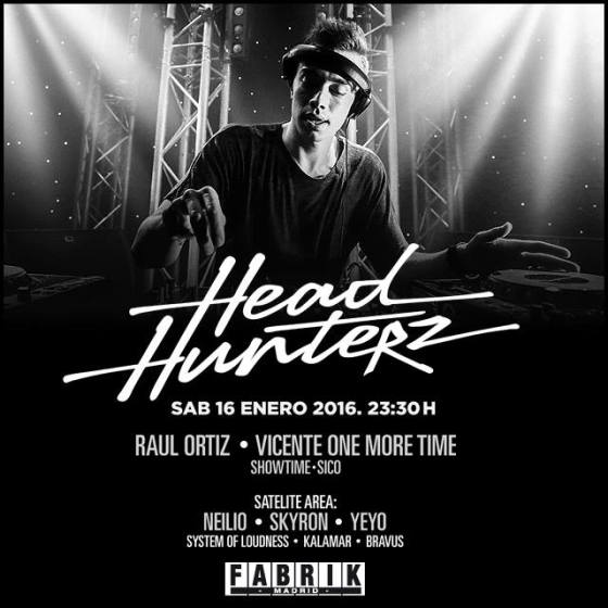 head hunterz fabrik EDMred