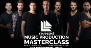 Revealed Recordings Masterclass EDMred
