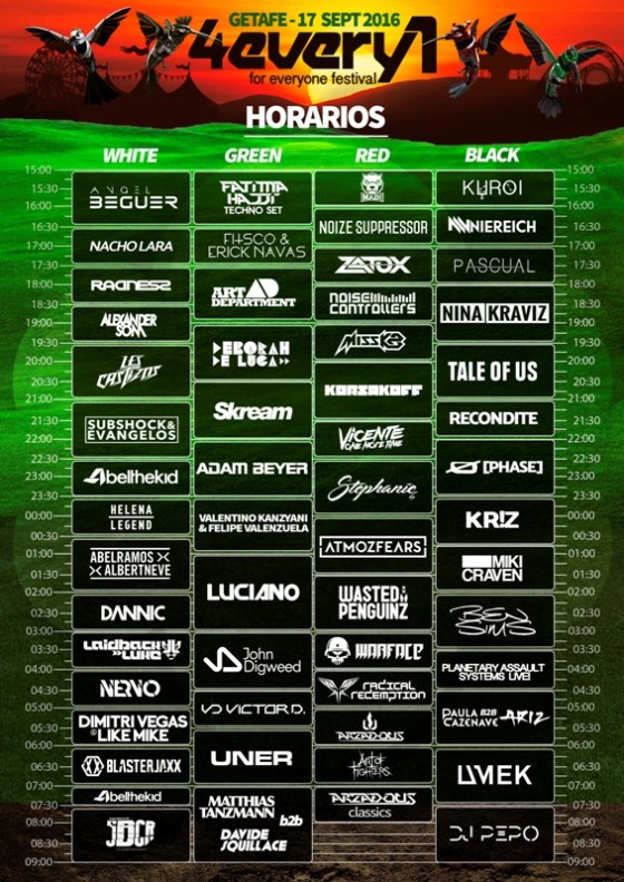horarios-4every1-2016-edmred