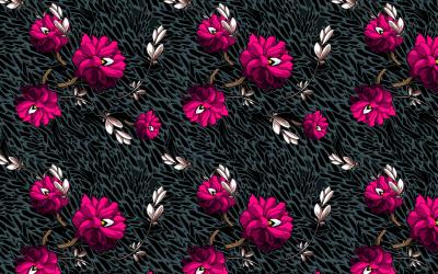 Wallpaper pattern design 6 Edouard Artus ©2012 | Edouard Artus