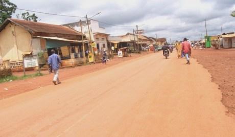 Abong-Mbang centre, le calme après la tempête