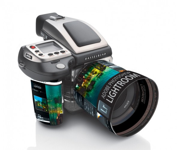 Hasselblad camera and Adobe Lightroom