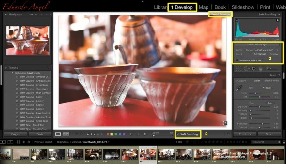Editing in Adobe Photoshop Lightroom