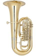 Tuba en Fa modelo Miraphone Firebird. Configuración: 6 cilindros.